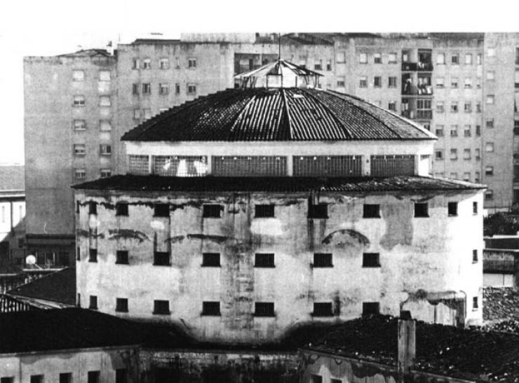 La cárcel de Badajoz casi destruida por un motín