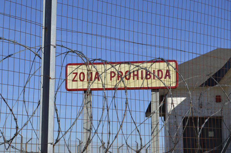 Base militar abandonada: Centro Táctico, CT2, Guadalupe-Villuercas