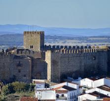 La berberisca encantada del Castillo de Segura de León