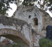 El Convento franciscano abandonado de Santiago en Lobón