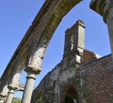 La ermita templaria abandonada de San Lázaro
