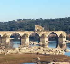 Ajuda, el puente destruido durante la Guerra de Sucesión