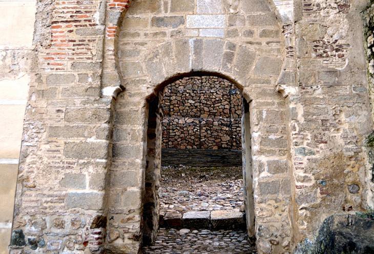 La Puerta de la Traición de la alcazaba de Badajoz