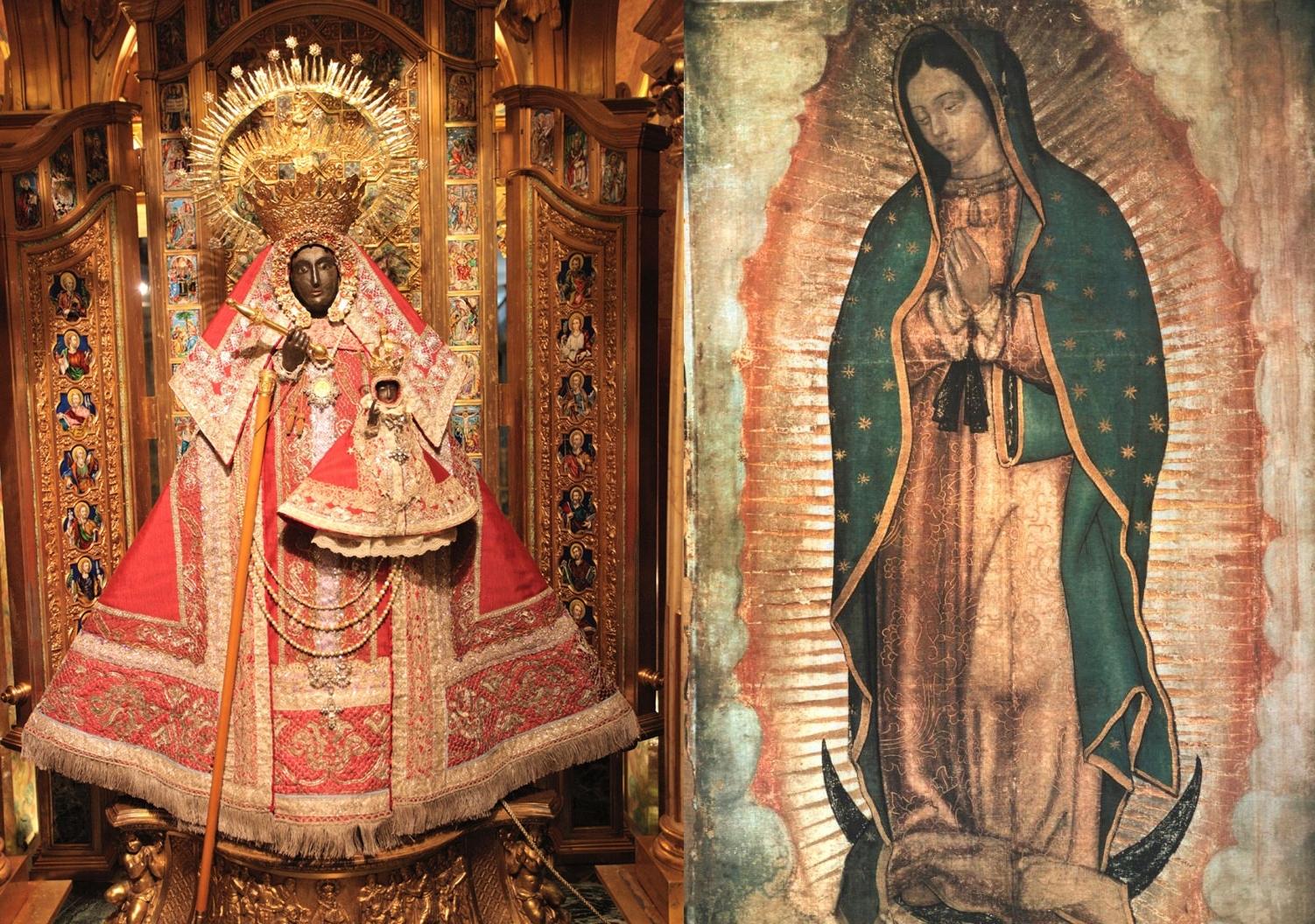 Resultado de imagen de Virgen de Guadalupe, España